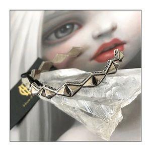 House Of Harlow 1960 Sierra Pyramid Cuff Bracelet